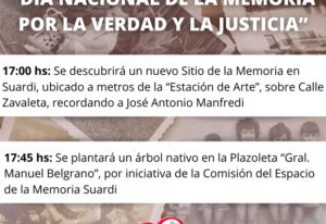 dia nacional de la memoria por la verdad y justicia